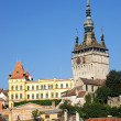 Rooftops of sighisoara in romania — Stock Photo #10399026