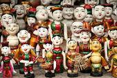 Traditional puppets in hanoi vietnam — Stock Photo