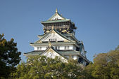Osaka castle in japan — Stockfoto