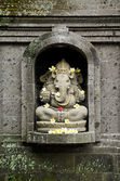 Ganesh hindu god in bali indonesia — Stock Photo