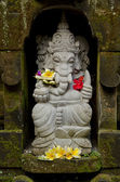 Ganesh statue in bali indonesia — Stock Photo