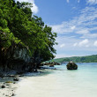 Tropical island beach in thailand — Stock Photo #10401284
