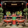 Chinese temple in battambang cambodia — Stock Photo