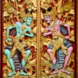 Stock Photo: Carvings in temple bali indonesia