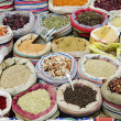 Spices in middle east market cairo egypt — Stock Photo