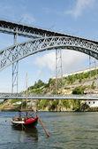 Dom ponte luis porto portogallo — Foto Stock