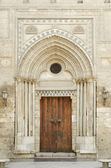 Mosque door in cairo egypt — Stock Photo