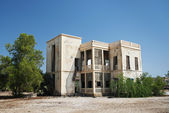 Colonial house in massawa eritrea — Stock Photo