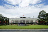 Reunification palace ho chi minh city saigon vietnam — Stock Photo