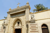 Coptic christian church in cairo egypt — Стоковое фото