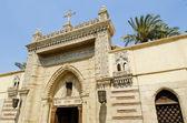 Coptic christian church in cairo egypt — Zdjęcie stockowe