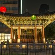 Stock Photo: Temple in central seoul south korea