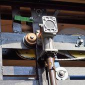 Lift motor — Stock Photo