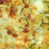 Zucchini zucchini-omelett — Stockfoto
