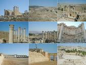 Džeraš, jordánsko — Stock fotografie