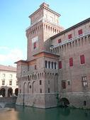 Ferrara, włochy — Zdjęcie stockowe