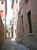 Ferrara, itálie — Stock fotografie