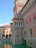 Ferrara, Italy — Stock Photo