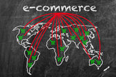 E-commerce business — Foto Stock