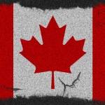 Canada grunge flag — Stock Photo #10344214