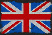 Great Britain grunge flag — Stock Photo