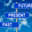 Past Present Future sign — Stock Photo #10540368