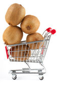 Buying healthy food — Stock Photo