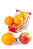 Nákup zdravých potravin — Stock fotografie