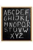 Letters of English alphabet — Foto de Stock