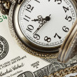 Time and money — Stock Photo #8960835