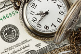 Time and money — Foto Stock