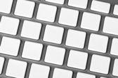Aluminum keyboard — Stock Photo
