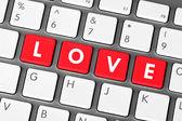 Love Keys — Stock Photo
