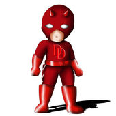 Daredevil Chibi — Stock Photo