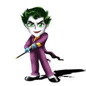 Joker Chibi — Stock Photo