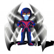 Stock Photo: Archangel Chibi