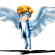 Archangel Chibi — Stock Photo