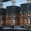 Prayer wheels — Stock Photo #9643953