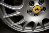 Ferrari wielen — Stockfoto