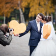 Wedding Photographer — Stock Photo #10564199