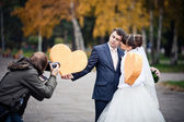 Wedding Photographer — Stockfoto