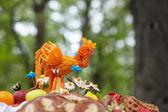 Ukrainian ethnic hand-made articles — Stok fotoğraf