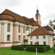 Famous Birnau pilgrimage church in baroque. — Stock Photo