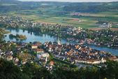 Stein am Rhein from above. — Stock Photo