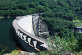 Verzasca dam near Locarno, Switzerland. — Stock Photo