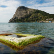 Green bay of Noviy Svet on the Crimean coast. - Stock Photo