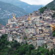 Beautiful mountain village Saorge. — Stock Photo