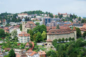 Summer view of Fribourg. — Stock Photo