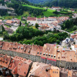 View of Fribourg from above. - Foto de Stock