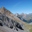 Summer view of the central Pyrenees. - Stock Photo